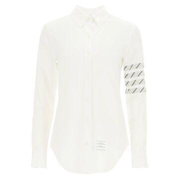 Thom browne oxford cotton button-down shirt 4-bar