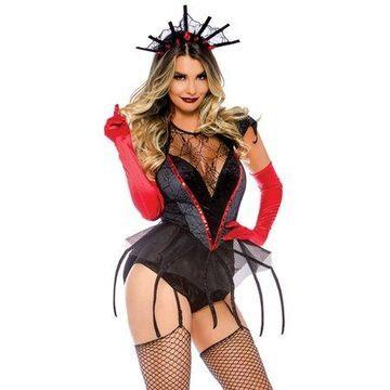 Leg Avenue Women's Black Widow Spider Halloween Costume