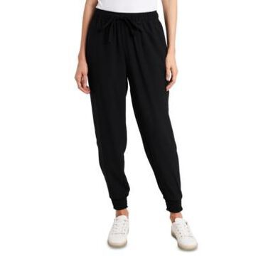 1.state Pull-On Crepe Jogger Pants
