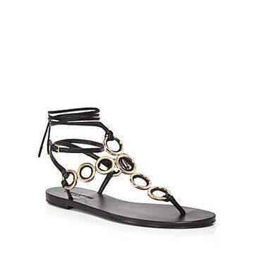 Yves Saint Laurent Women's Sienna Ring Strap Thong Sandals