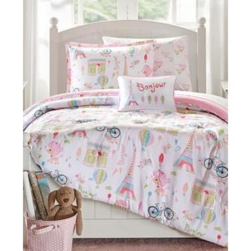 Mi Zone Kids Bonjour 6-Pc. Reversible Twin Comforter Set Bedding