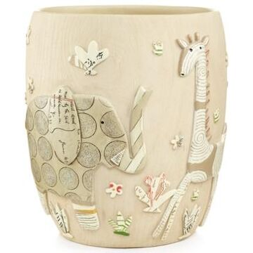 Creative Bath Accessories, Animal Crackers Trash Can Bedding