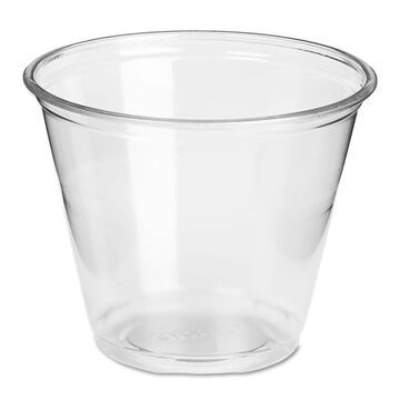 Dixie Clear Plastic PETE Cups Cold 9oz Regular Size 50/Pack 20 Packs/Carton CP9A