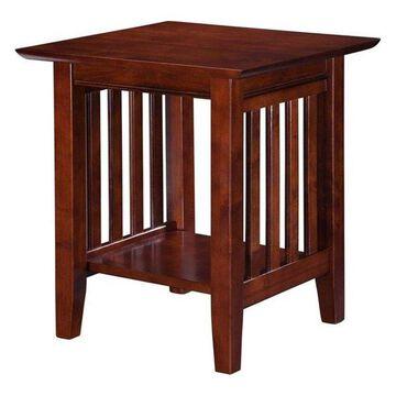 Pemberly Row End Table, Walnut