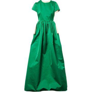 Rochas Green Polyester Dresses