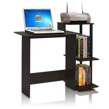 Furinno 11192 Efficient Home Laptop Notebook Computer Desk, Espresso/Black