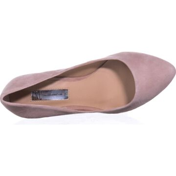 INC International Concepts Womens Zitah Leather Pointed