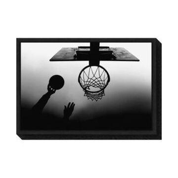 Amanti Art nt Basketball Net by Paulo Medeiros Canvas Framed Art
