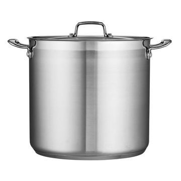 Tramontina Gourmet Tri-Ply Base Stainless Steel 20-qt. Stockpot