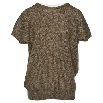 Vanessa Bruno Brown Wool Knitwear