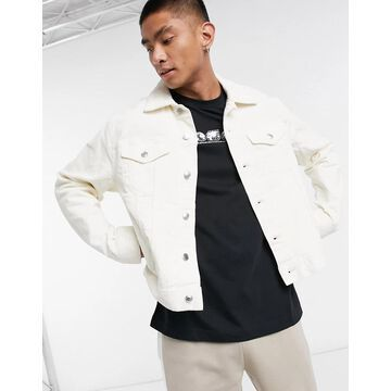 Weekday Shore Corduroy Jacket-White
