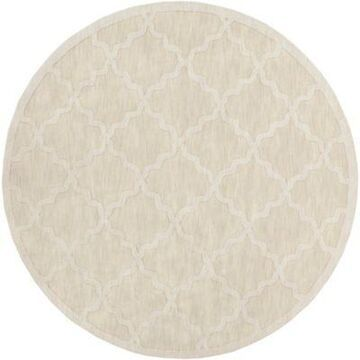 Artistic Weavers Central Park Abbey 7'9 Round Handcrafted Area Rug In Beige