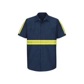Red Kap Short-Sleeve Visibility Shirt