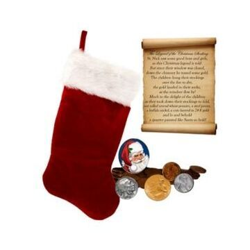 American Coin Treasures The Legend of The Christmas Stocking Coin Collection