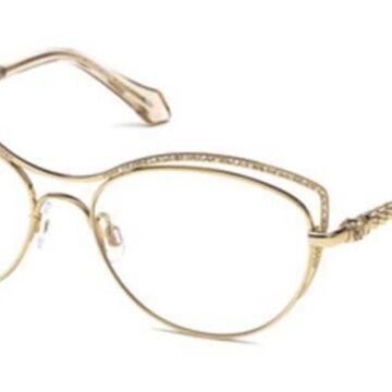Roberto Cavalli RC 5041 CRESPINA 028 Womenas Glasses Pink Size 55 - Free Lenses - HSA/FSA Insurance - Blue Light Block Available