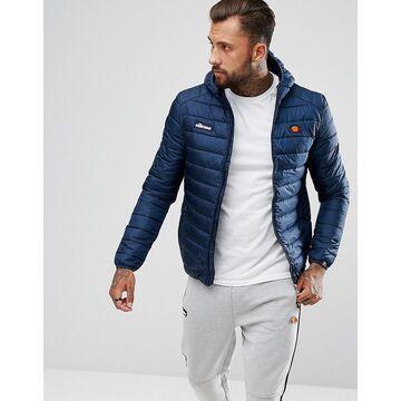 ellesse Lombardy padded jacket in navy