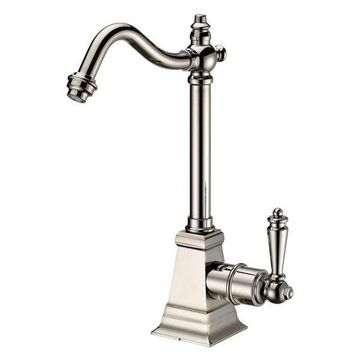 Whitehaus WHFH-C2011-PN Polished Nickel Point of Use Cold Water Faucet with Trad