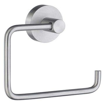 Smedbo Home 4 1/2 Wall Mount Euro Toilet Roll Paper Holder, HS341