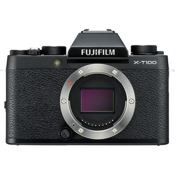 FUJIFILM X-T100 Mirrorless Digital Camera (Body Only, Black)