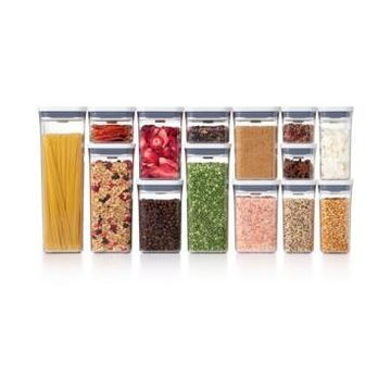 Oxo Pop 20-Pc. Food Storage Container Set