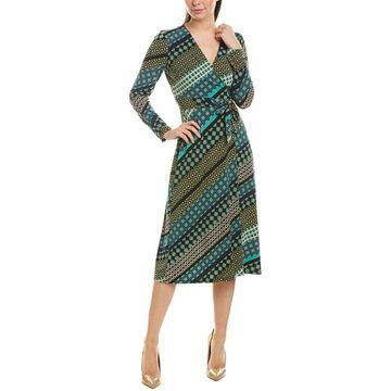 London Times Womens Midi Dress