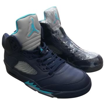 Jordan Air Jordan 5 Other Leather Trainers
