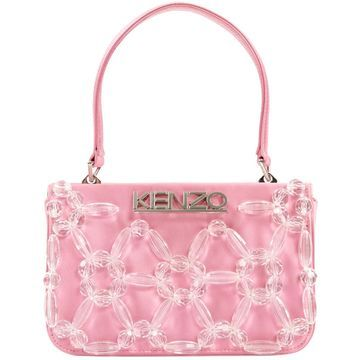 Kenzo Pink Cloth Handbags