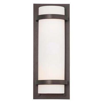 Minka Lavery 2-Light Wall Sconce, Smoked Iron, 341-172