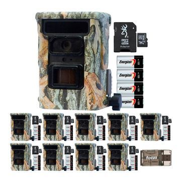 Browning Trail Cameras Defender 940 20MP Game Cam 10-Pack w/ Cards and Batteries