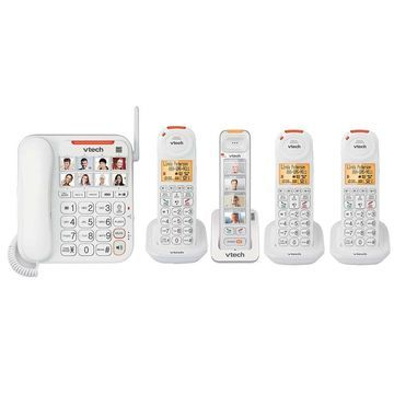 Vtech SN5147 plus 1-SN5307 plus 2-SN5107 Amplified Corded-Cordless Phones