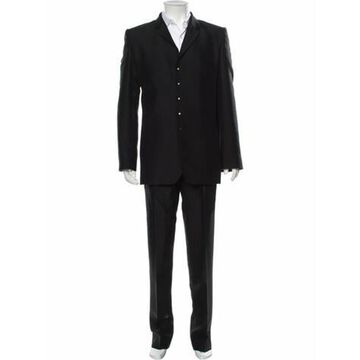 Vintage Wool Two-Piece Suit Black