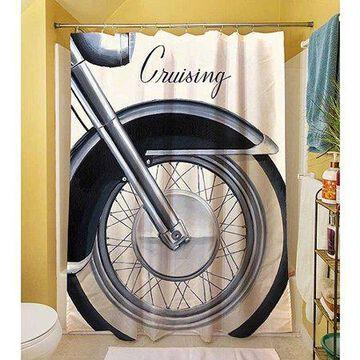 Thumbprintz Cruising Shower Curtain, 71