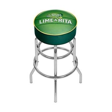 Trademark Gameroom Bud Light Lime-A-Rita Padded Swivel Bar Stool