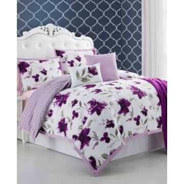 Ellen Tracy Monterrey 6-Piece King Comforter Set Bedding