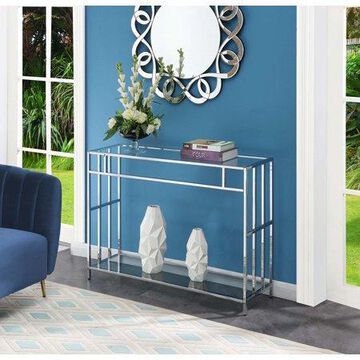 Convenience Concepts Mission Glass Console Table