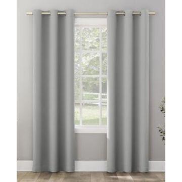 "Sun Zero Riley Kids Bedroom Blackout Grommet Curtain Panel, 95"" L x 40"" W"