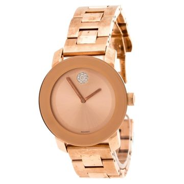 Movado Gold Steel Watches