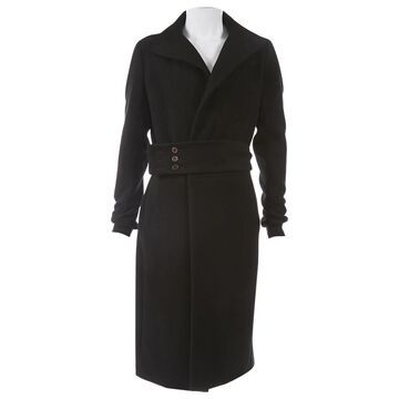 Rick Owens Black Cashmere Coats