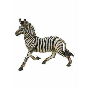 Zebra Figurine White