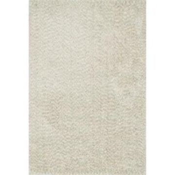 Alexander Home London Hand-tufted Textured Plush Shag Rug (Ivory 5' x 7'6
