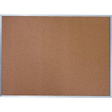 Quartet Cork Bulletin Board, Aluminum Frame, 6 x 4 (85348)   Quill