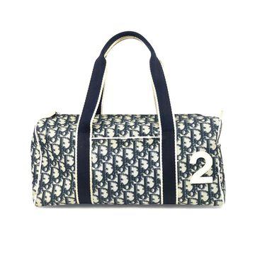 Dior Blue Cloth Handbags