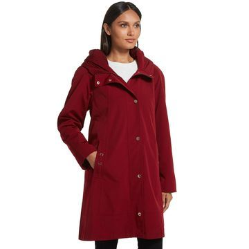 Women's Gallery Hooded Midweight Raincoat