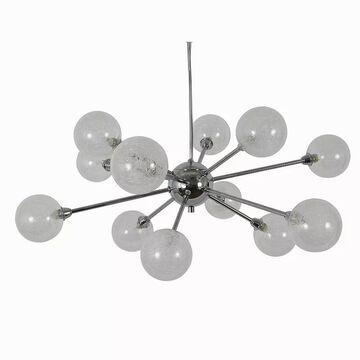 Decor Therapy Susan 12-Light Sputnik Chandelier, Grey