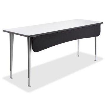 Safco, Fabric Modesty Panel, 1 Each, Black