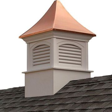 Southington Vinyl Cupola With Copper Roof, 30