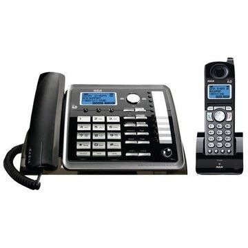 RCA 25255RE2 2-Line Corded/Cordless Expandable Phone with Caller ID & Answerer