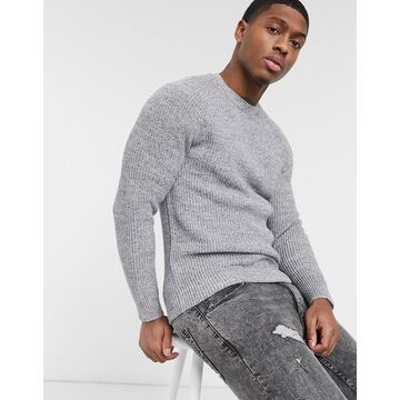 Esprit chunky knit sweater in gray