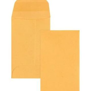 Business Source Small Coin Kraft Envelopes - Brown Kraft (Brown Kraft)