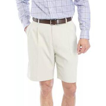 Savane Men's Pleated Flex Shorts -